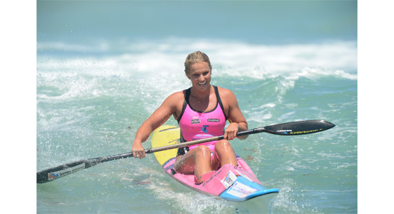 naomi flood surfski telstra iron women series 2013 portsea australia sportscene manly