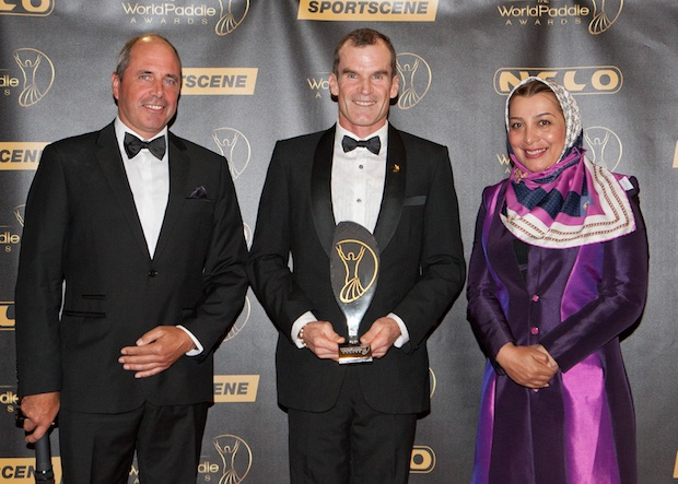 martin dreyer winner world paddle awards foundation award 2016 south africa canoe kayak sportscene