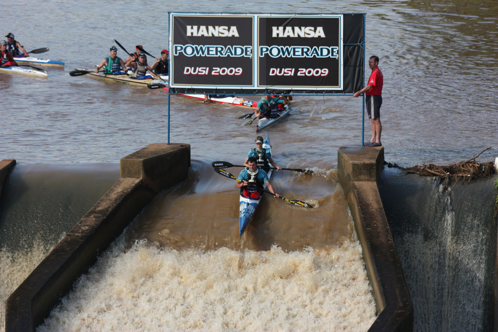 canoe kayak dusi south africa river race long distance sportscene